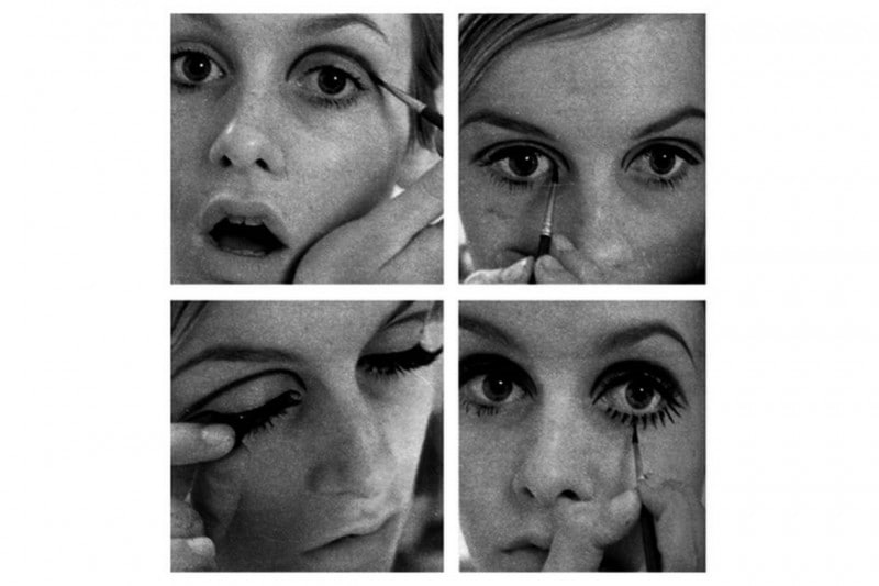 MAKE UP MOD CON CREASE LINE: HOW TO BY TWIGGY