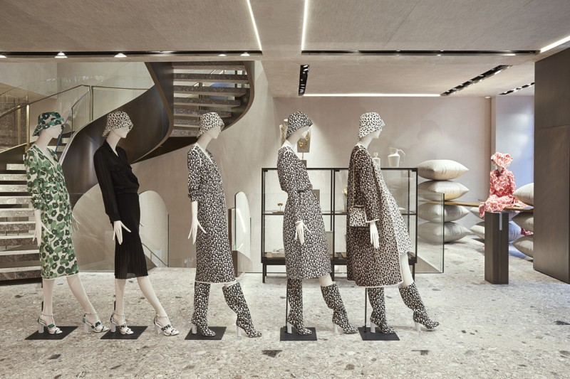 MAX MARA NEW LONDON FLAGSHIP STORE 1