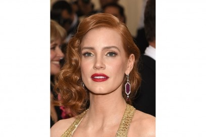 MET Gala 2015 Beauty Look: Jessica Chastain