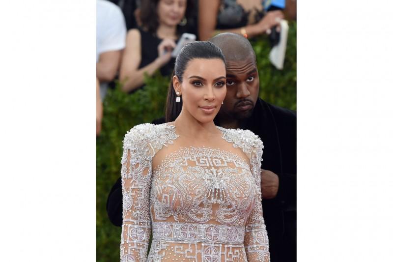 MET Gala 2015 Beauty Look: Kim Kardashian