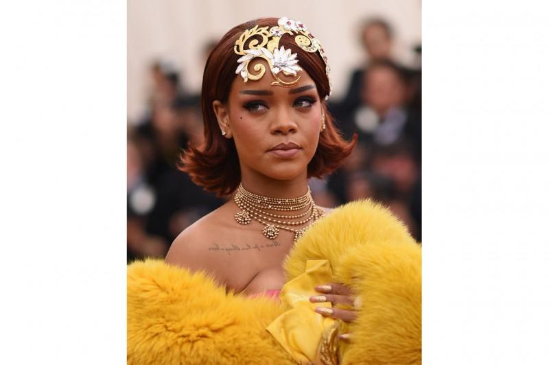 MET Gala 2015 Beauty Look: Rihanna