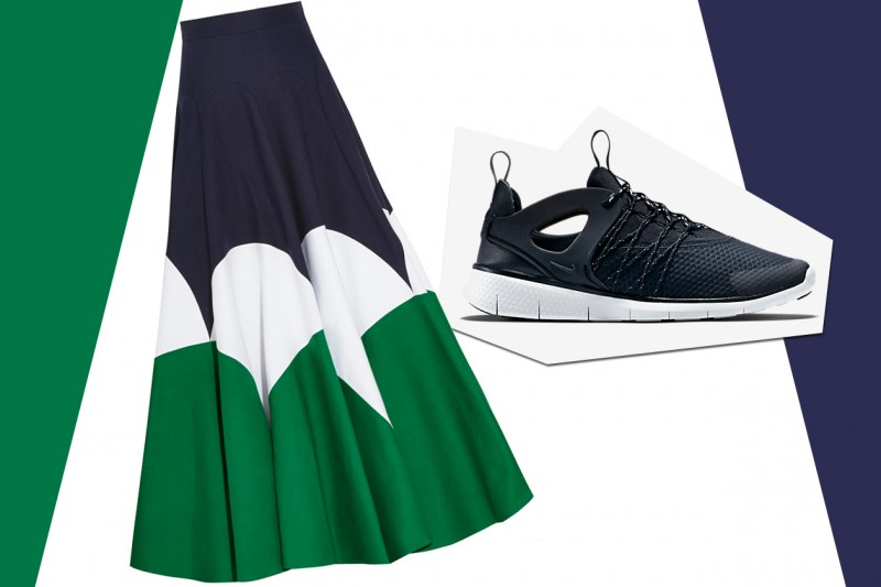 MIX&MATCH: GONNA LUNGA DELPOZO + SNEAKERS NIKE