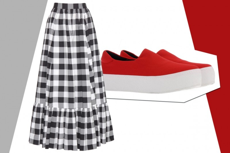 MIX&MATCH: GONNA LUNGA DOLCE & GABBANA + SNEAKERS OPENING CEREMONY