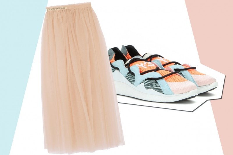 MIX&MATCH: GONNA LUNGA VALENTINO + SNEAKERS Y-3