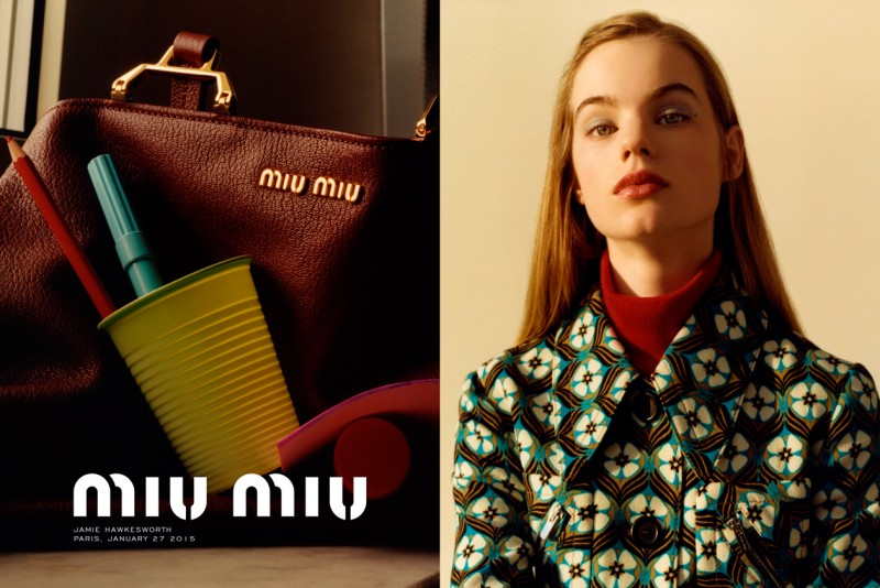 Miu Miu Adv. Campaign Automne 2015 01