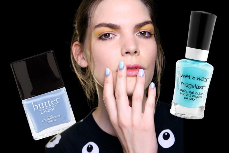 Nail art: Reverse French Manicure