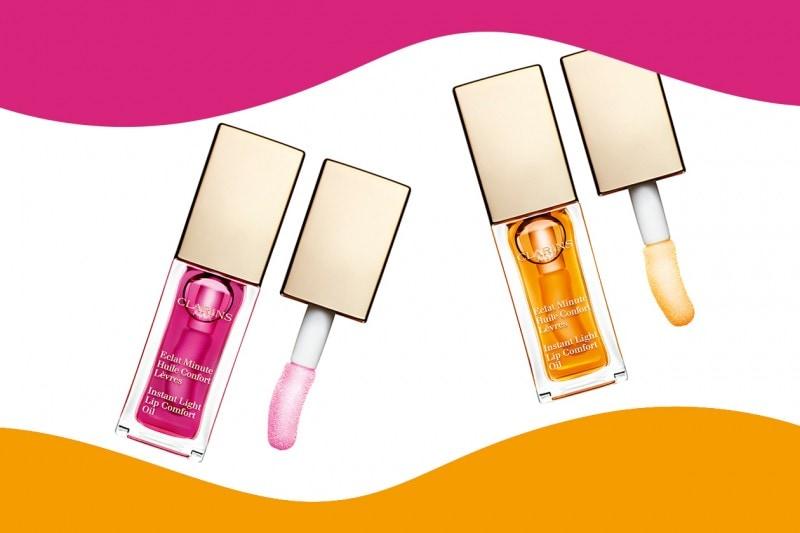 Olio labbra idratante: Clarins Eclat Minute Huile Confort Lèvres