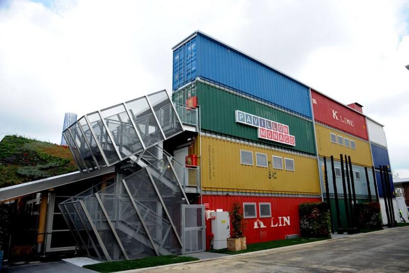 «Padiglione Monaco» il render del progetto