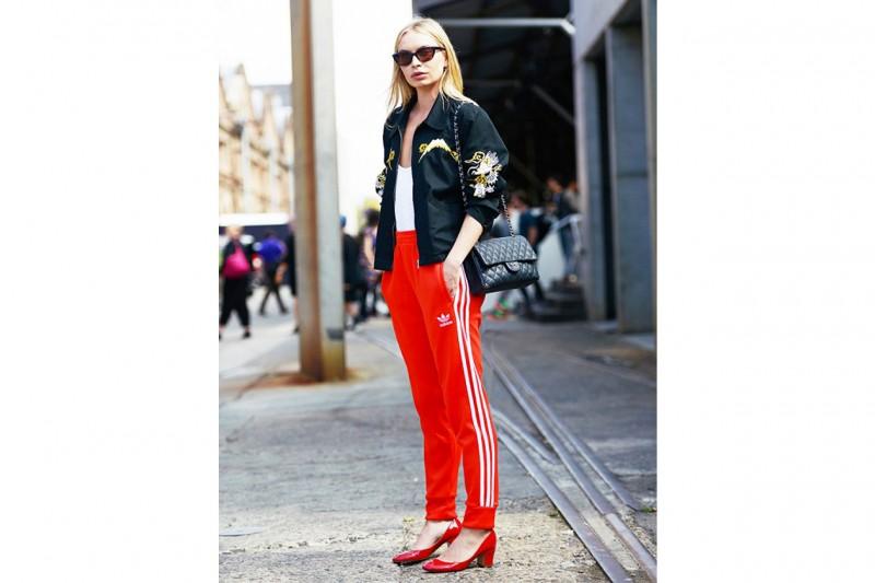 Pantaloni della tuta: look street style