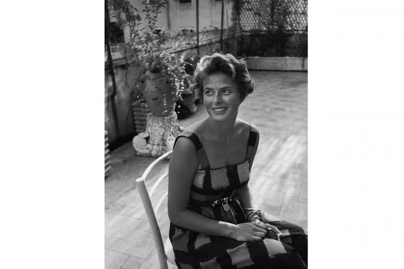 Portrait of Ingrid Bergman by David Seymour, Italy, 1952