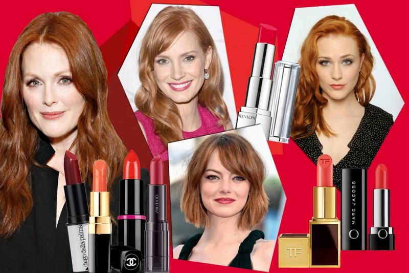 Rossetto per rosse: quale nuance scegliere