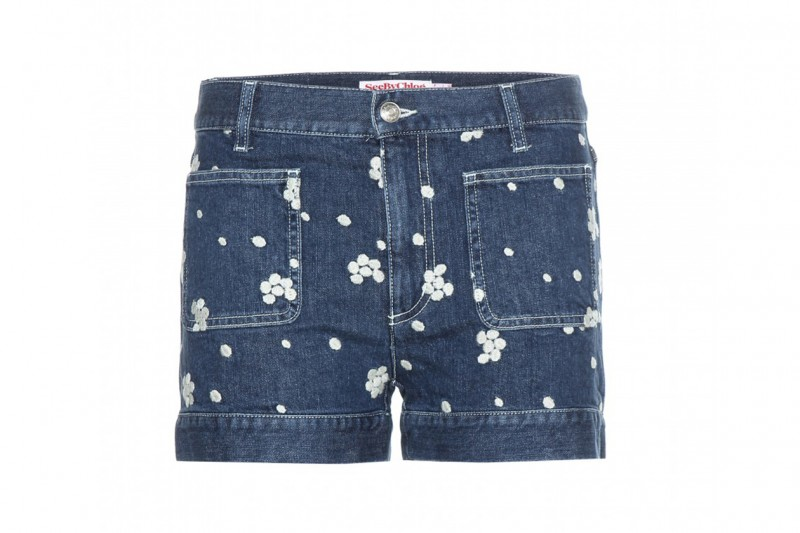 SHORTS IN DENIM: SEE BY CHLOé