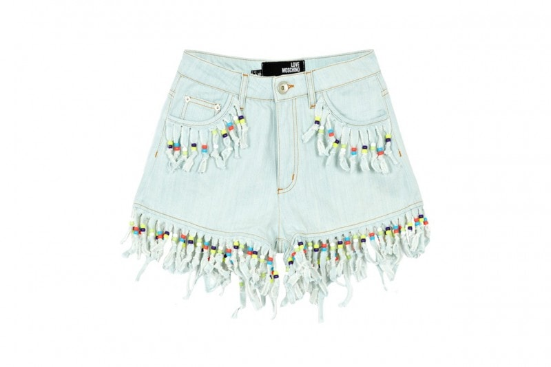 SHORTS IN JEANS: LOVE MOSCHINO