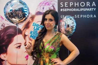 #Sephoralipsparty: Make up Delight al wall
