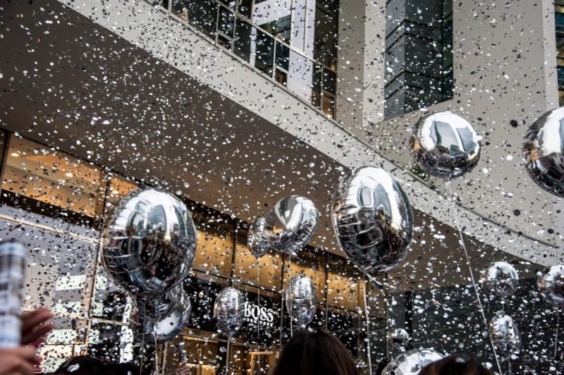 #Sephoralipsparty: glitter & ballons