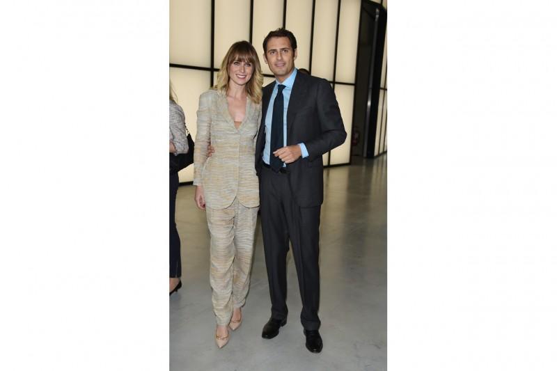 Serena Autieri e Enrico Griselli