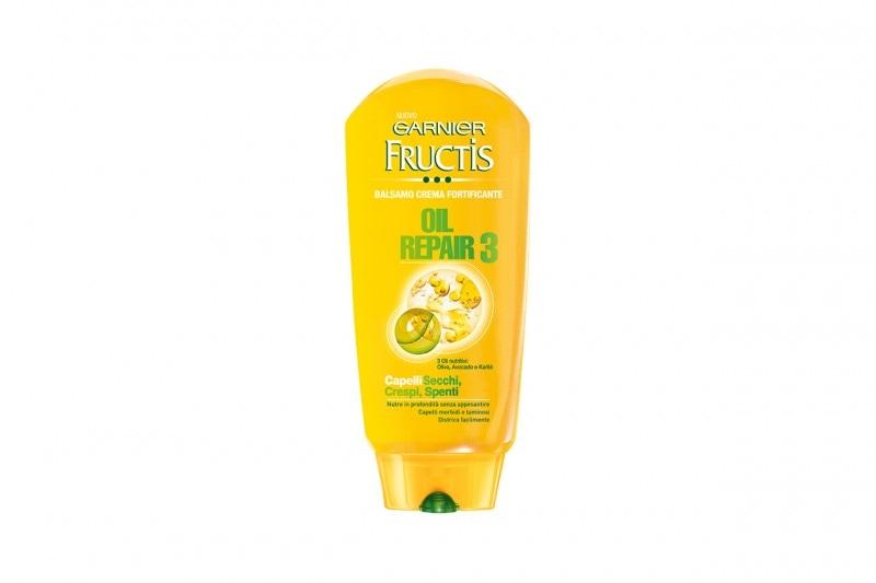 Shampoo e balsami per lui: Fructis Oil Repair3 Balsamo Crema Fortificante di Garnier