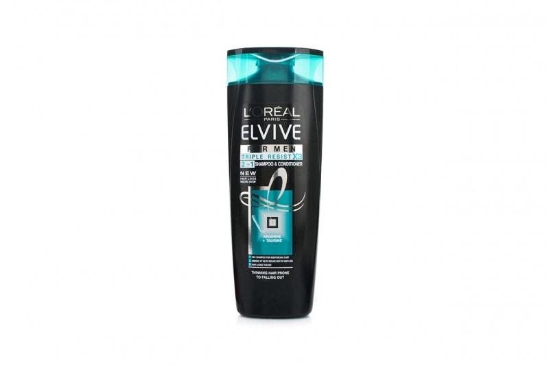 Shampoo e balsami per lui: L'Oréal Elvive Triple Resist 2 in 1 Shampoo for Men