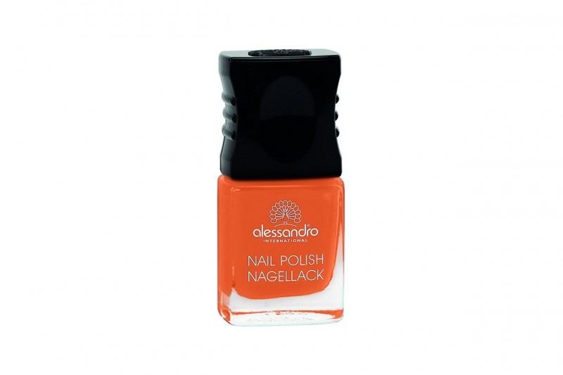 Smalti arancio: Alessandro Nail Color Pumpkin