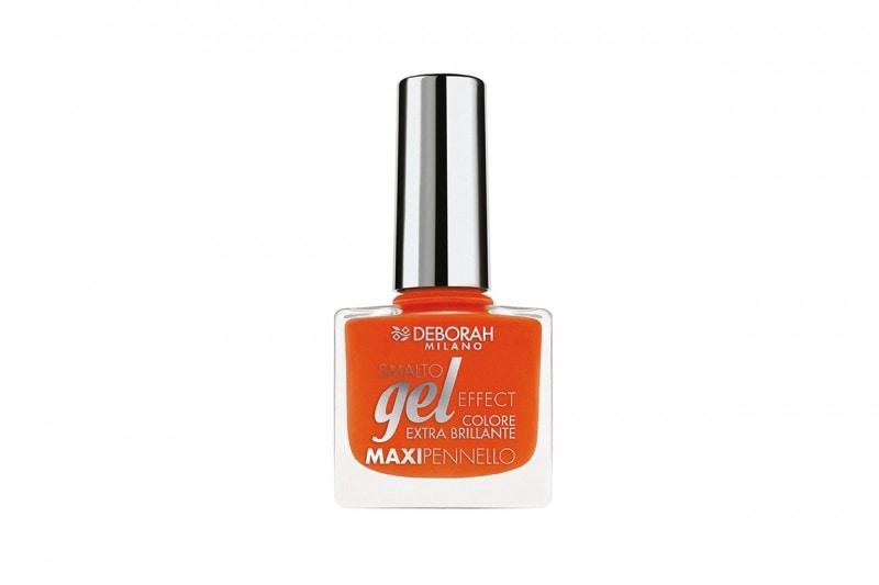 Smalti arancio: Deborah Milano Smalto Gel Effect Gerbera Orange