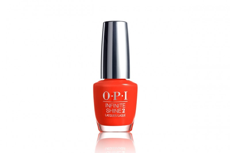 Smalti arancio: OPI Infinite Shine No Stopping Me Now