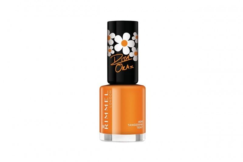 Smalti arancio: Rimmel London 60 Seconds Super Shine by Rita Ora Tangerine Tent