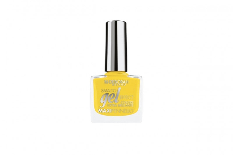 Smalti gialli: Deborah Milano Smalto Gel Effect Happy Yellow