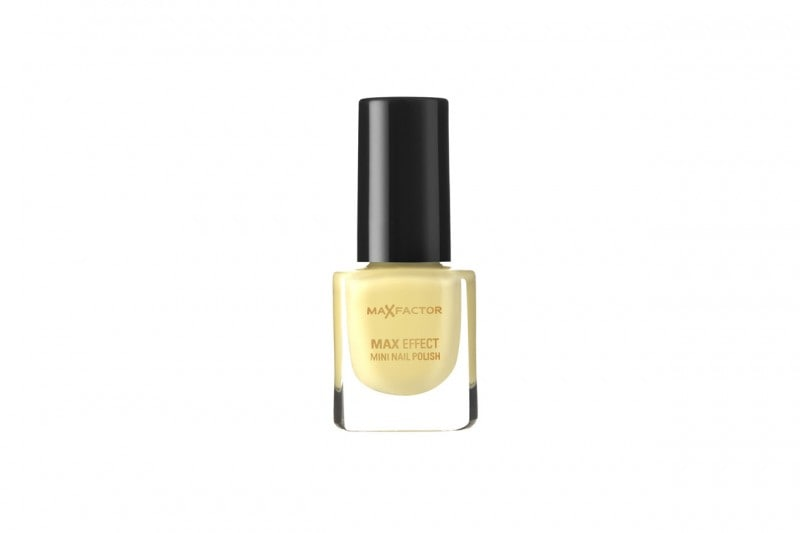 Smalti gialli: Max Factor Max Effect Mini Nail Polish Mellow Yellow