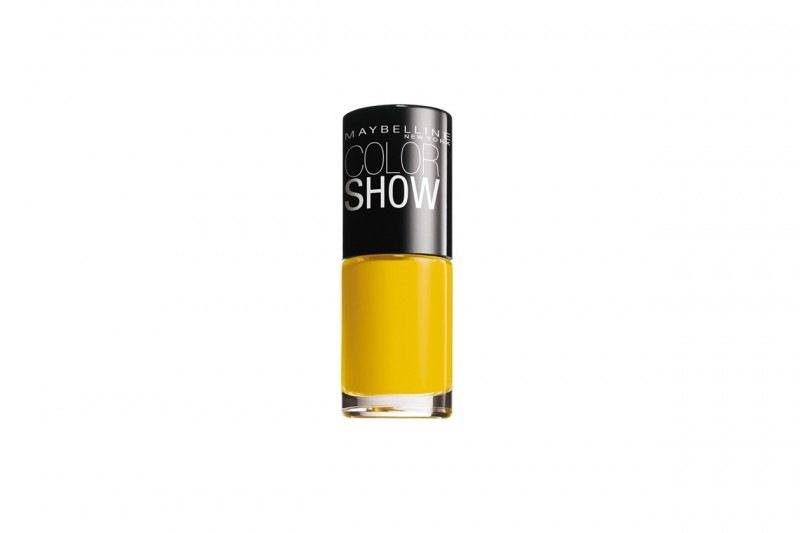 Smalti gialli: Maybelline Color Show Electric Yellow