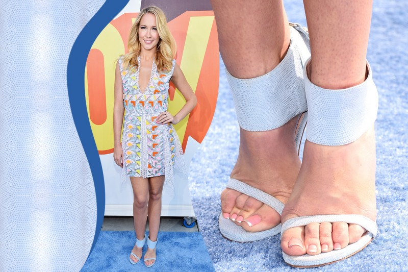 Smalti piedi delle star: Anna Camp