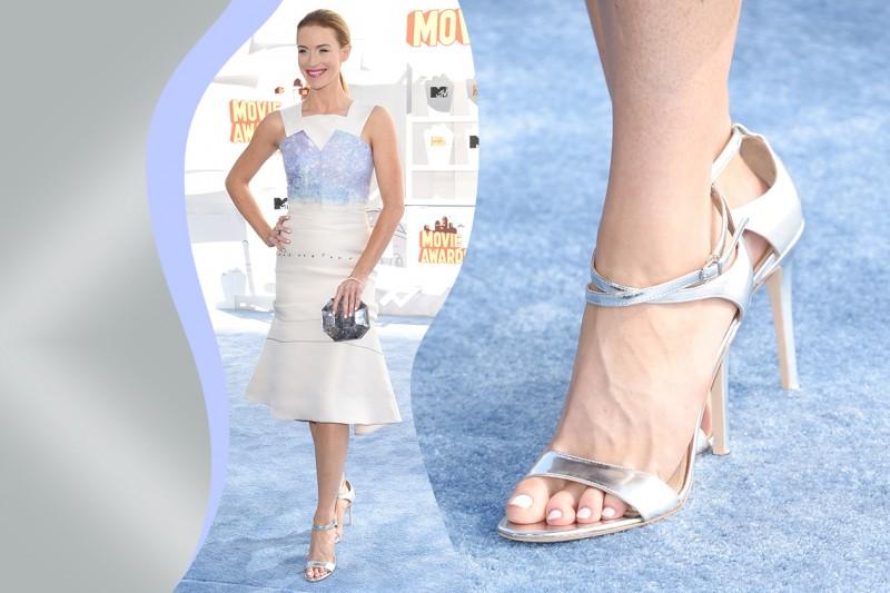 Smalti piedi delle star: Bridget Regan