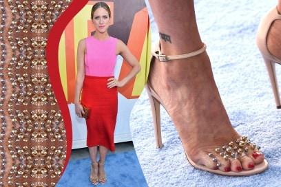 Smalti piedi delle star: Brittany Snow