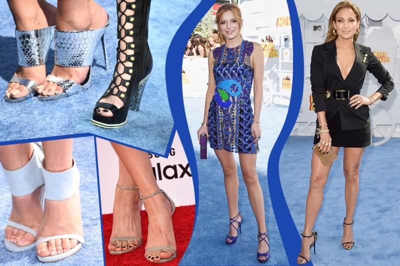 Smalti piedi delle star: i colori di tendenza selezionati da Grazia.it