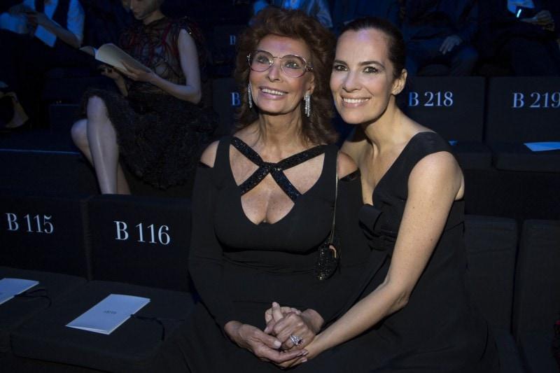 Sophia Loren e Roberta Armani