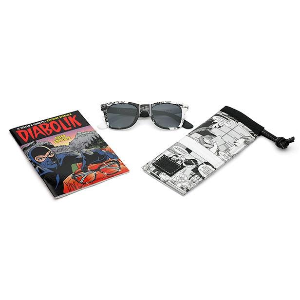 Sting Eyewear dedica una charity collection a Diabolik