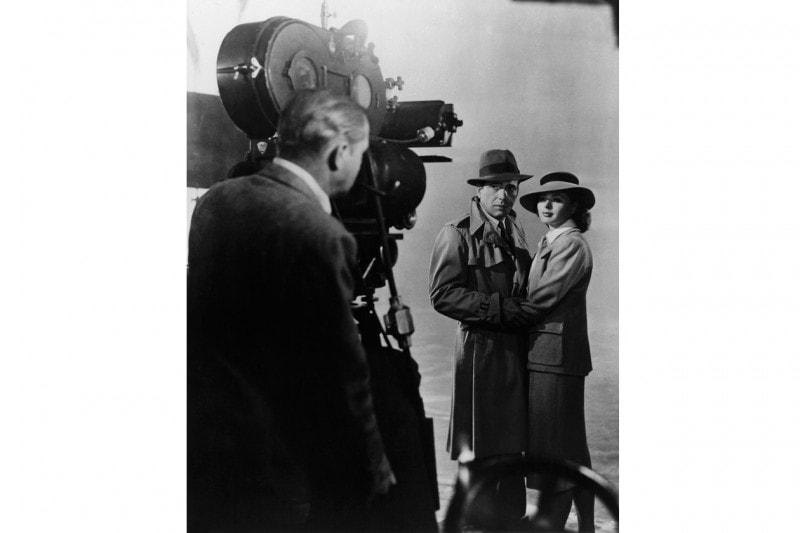 Sul set di Casablanca con  Humphrey Bogart (1942)