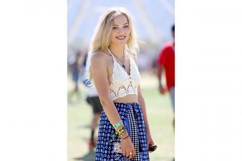 Tendenza uncinetto: al Coachella Festival