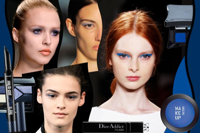 Trucco blu: gli ombretti, gli eyeliner e i mascara dell'estate 2015 selezionati da Grazia.it