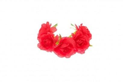 ACCESSORI CAPELLI: RED BUN GARLAND BY CLAIRE'S