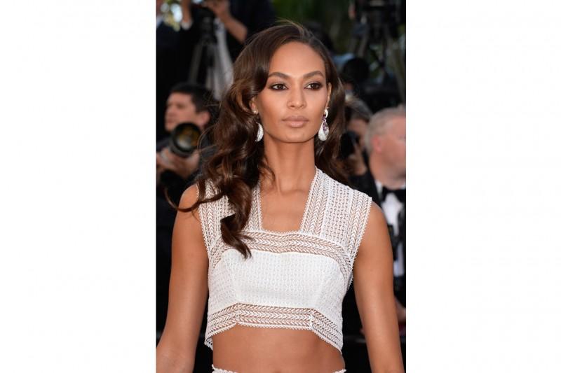Cannes 2015 trucco e capelli: Joan Smalls