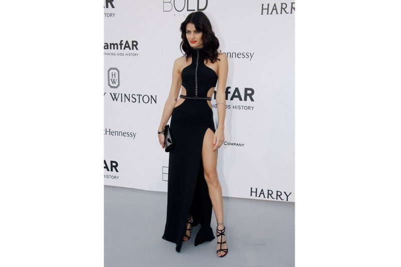 cannes amfar gala 2015: total black