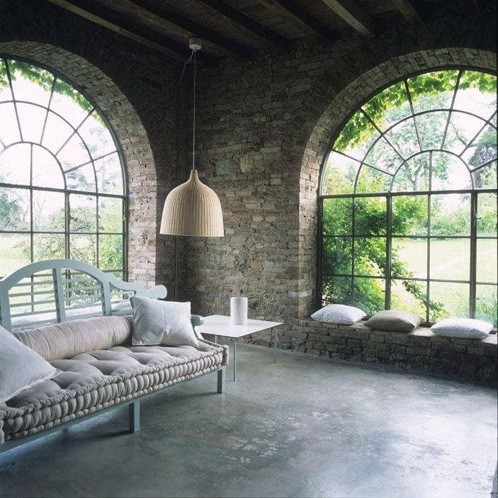 La casa sulle colline piacentine della designer Marina Sinibaldi ...