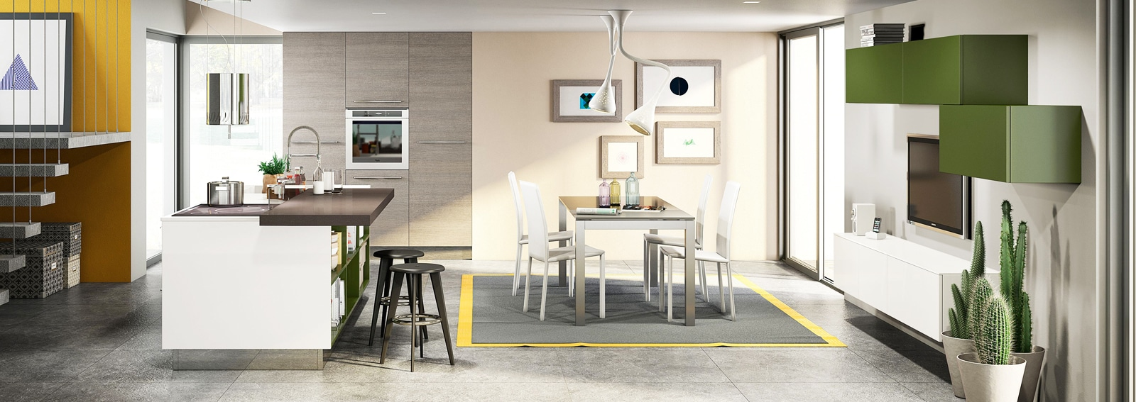 Emejing Le Cucine Moderne Più Belle Contemporary - Home Ideas ...