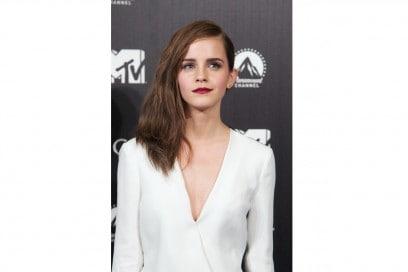 Emma Watson capelli: side swept con volume