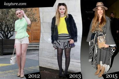 fashion blogger: kristina bazan