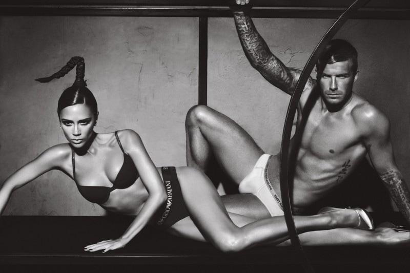 "2009: Una campagna ""intima"" per David Beckham e sua moglie Victoria"