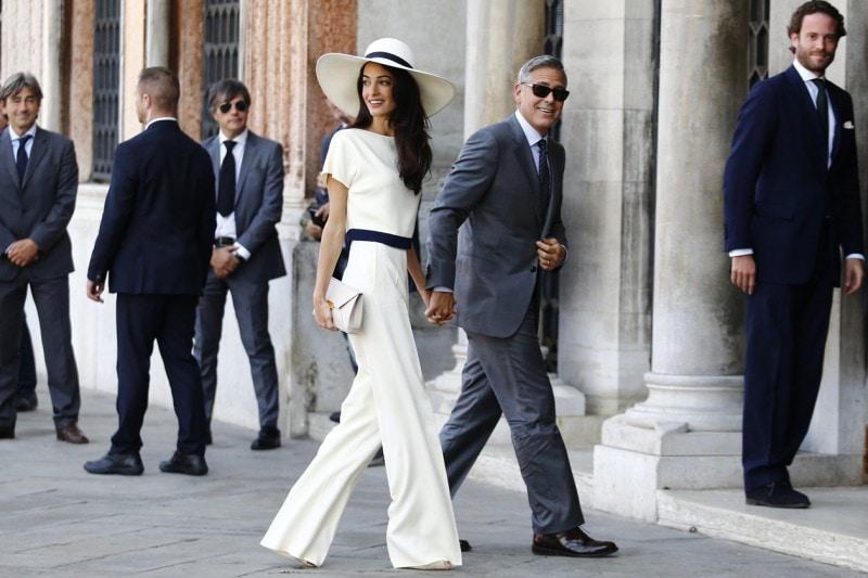 2014: il matrimonio di George Clooney con Amal Alamuddin