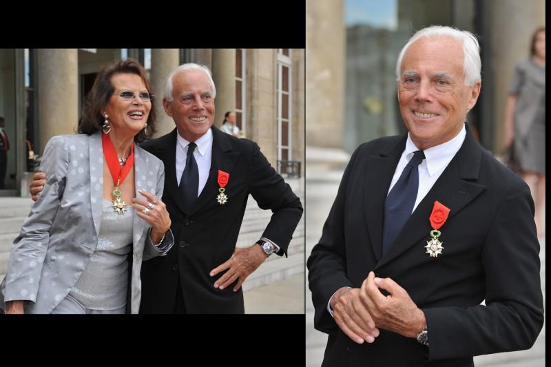 2008: il grande riconoscimento della Legion d'honneur francese