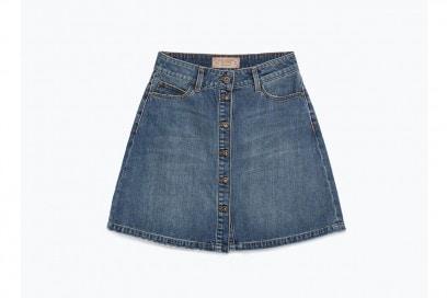 gonna in jeans con bottoni: zara
