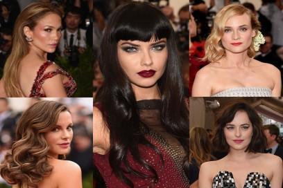 MET Gala 2015: i beauty look delle star